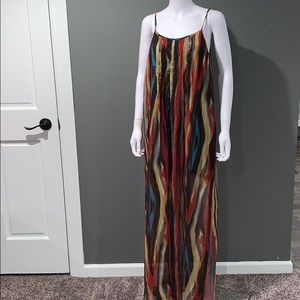 Jessica Simpson WOMANS maxi dress SZ.L